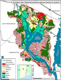 Rhode Island Watershed Planning Map