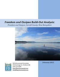 Water Quality Sampling Map, Freedom and Ossipee, NH
